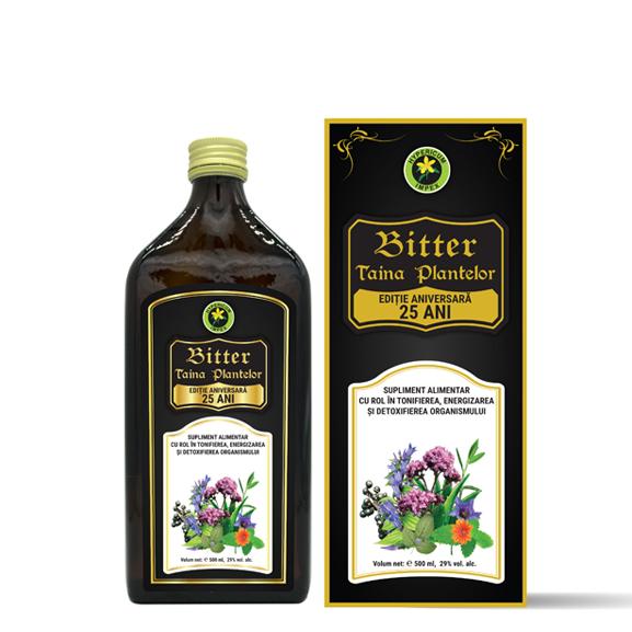 Bitter Taina Negru 500ml supliment alimentar Hypericum Impex