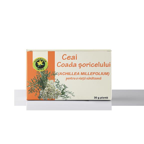 Ceai Coada Soricelului Vrac - Ceaiuri Medicinale - Hypericum Impex