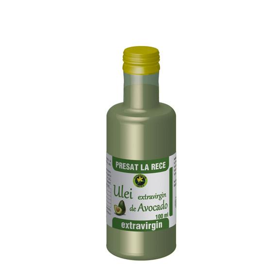 Ulei extravirgin de Avocado 100ml - Produs Hypericum Impex