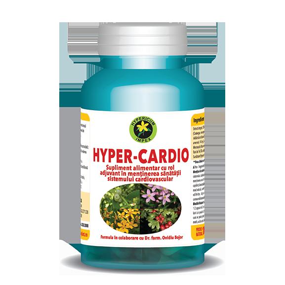Capsule Hyper Cardio - Vitamine si Suplimente - Hypericum Impex