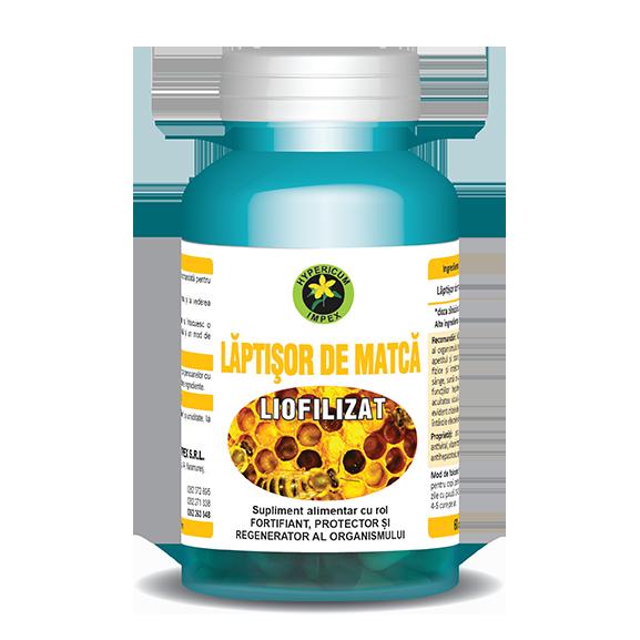 Capsule Laptisor de Matca Liofilizat - Vitamine si Suplimente - Hypericum Impex
