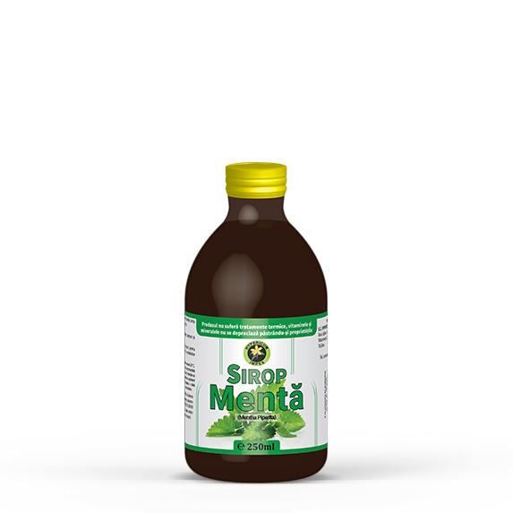 Sirop Menta - Siropuri si Sucuri Naturale - Produs Hypericum Impex