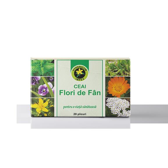 Ceai Flori de Fan doze - Ceaiuri Medicinale - Hypericum Impex