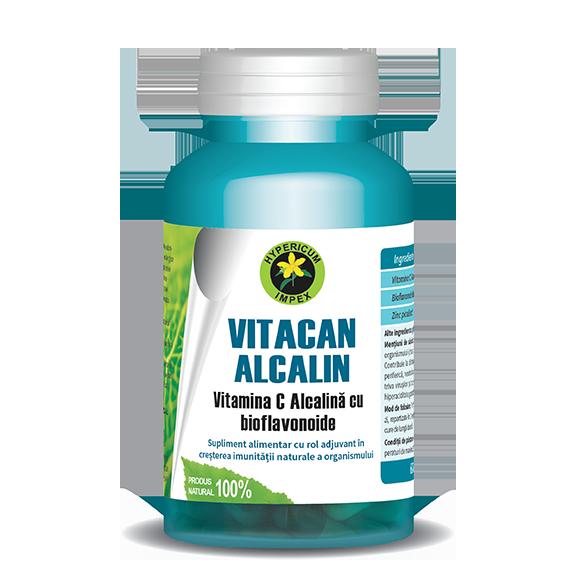 Capsule Vitacan Alcalin - Vitamine si Suplimente - Hypericum Impex