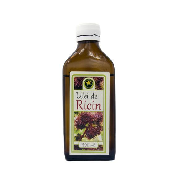 Ulei de Ricin 200ml - Uleiuri Medicinale - Produs Hypericum Impex