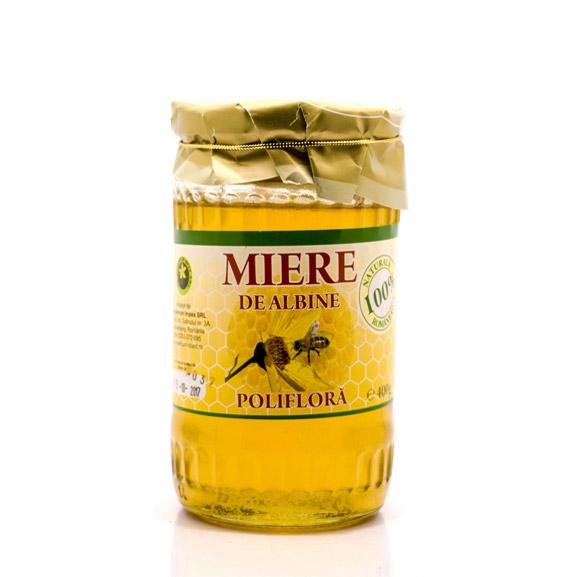 Miere de albine poliflora 400 g - produs Hypericum Impex