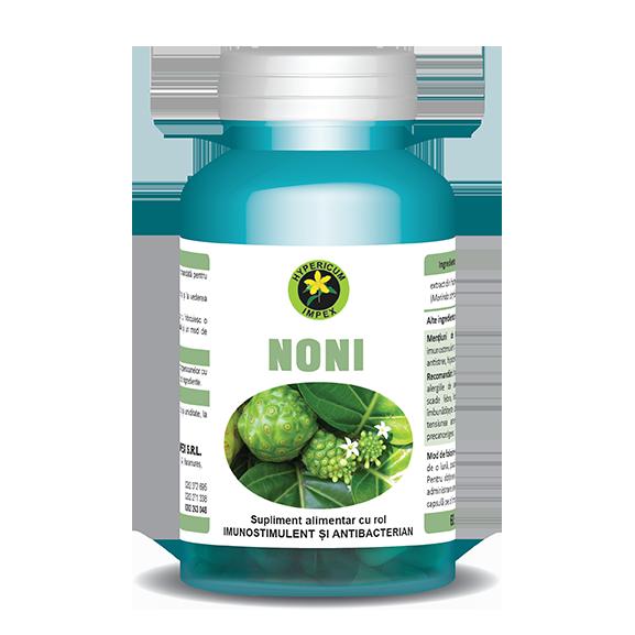 Capsule Noni - Vitamine si Suplimente - Hypericum Impex