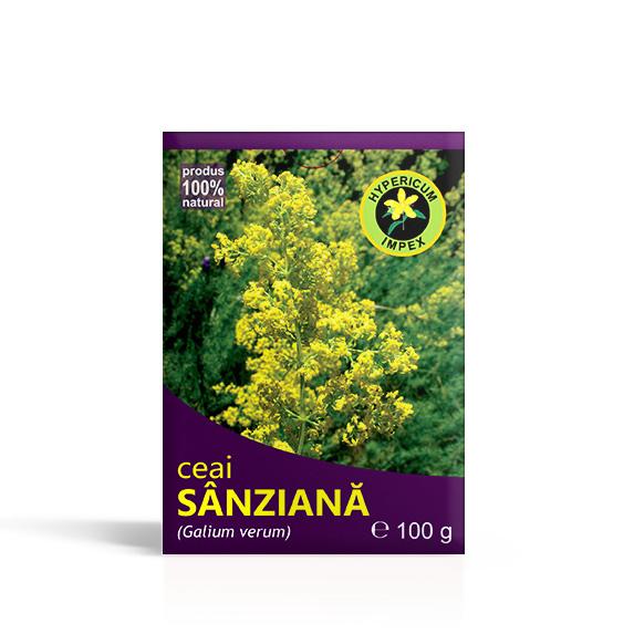 Ceai Sanziana vrac - Ceaiuri din plante Medicinale - Produs Hypericum Impex
