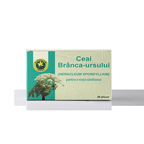 Ceai Branca Ursului Doze - Ceaiuri Medicinale - Hypericum Impex
