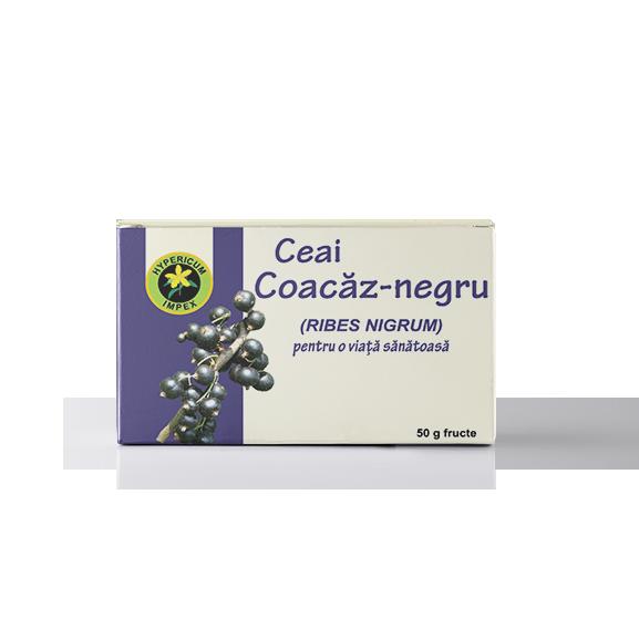 Ceai coacaz negru fructe vrac - Ceaiuri Medicinale - Hypericum Impex