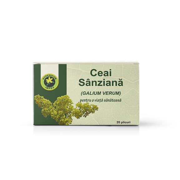 Ceai Sanzaiana Doze - Ceaiuri din plante Medicinale - Produs Hypericum Impex