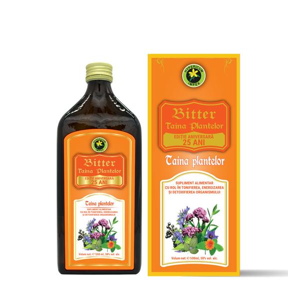 Bittere Taina Plantelor 500ml - Bittere Hypericum Impex