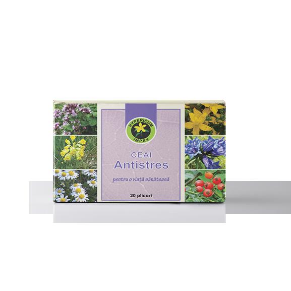 Ceai Medicinal Antistres - Plicuri - Hypericum Impex