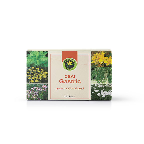 Ceai Medicinal Gastric - Doze - Hypericum Impex