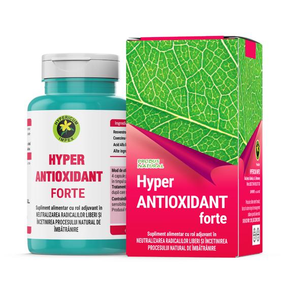 Capsule Hyper Antioxidant Forte - Hypericum Impex