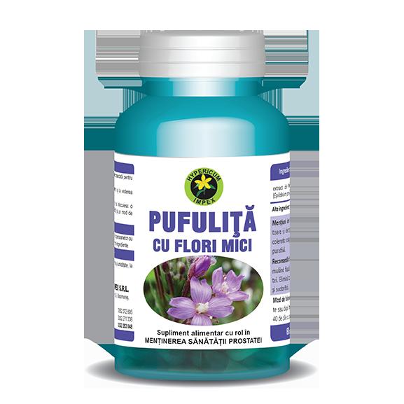 Capsule Pufulita cu Flori Mici - Vitamine si Suplimente Naturale - Hypericum Impex