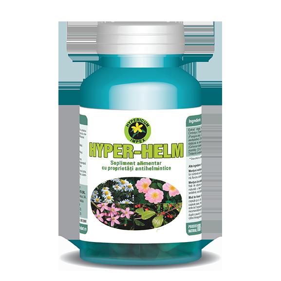 Capsule Hyper Helm - Vitamine si Suplimente - Hypericum Impex