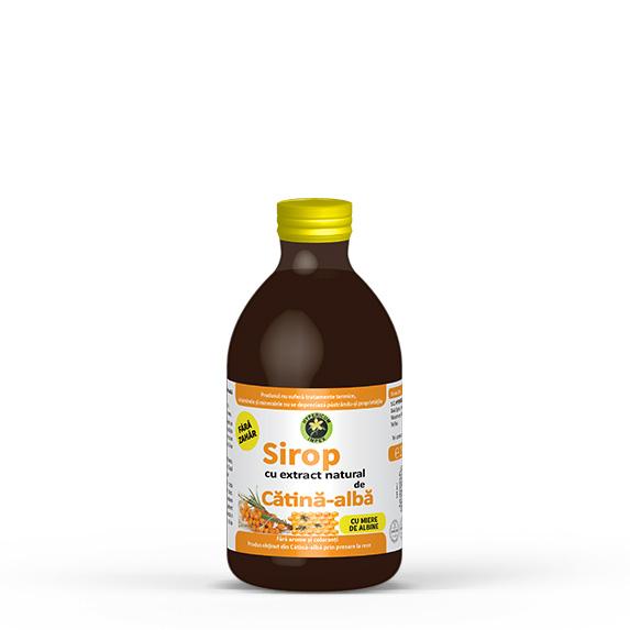 Sirop catina alba cu miere de albine - Siropuri si Sucuri Naturale - Produs Hypericum Impex