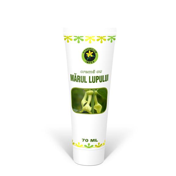 Crema cu Marul Lupului 70 ml - Cosmetice - Creme Hypericum Impex