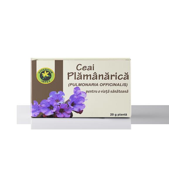 Ceai Plamanarica Vrac - Ceaiuri Medicinale - Hypericum Impex