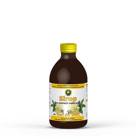 Sirop Soc - Siropuri si Sucuri Naturale - Produs Hypericum Impex