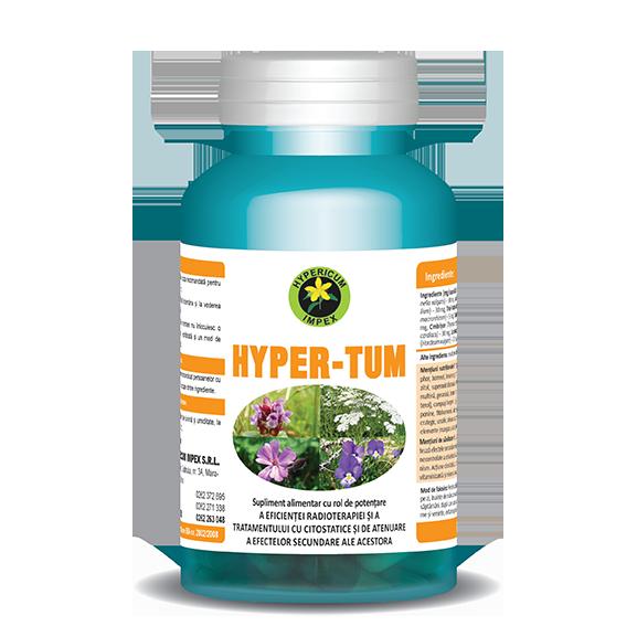Capsule Hyper Tum - Vitamine si Suplimente - Hypericum Impex