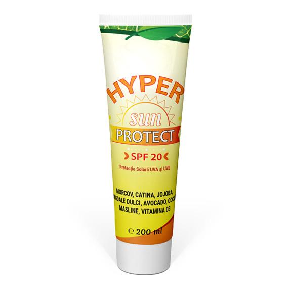 Crema Protectie Solara - Hyper SUN Protect 200 ml - Cosmetice - Hypericum Impex