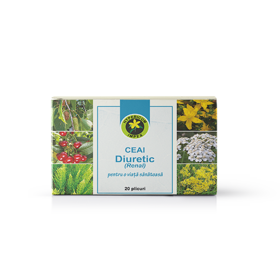 Ceai Medicinal Diuretic - Doze - Hypericum Impex