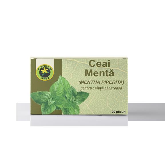 Ceai Menta Doze - Ceaiuri Medicinale - Hypericum Impex
