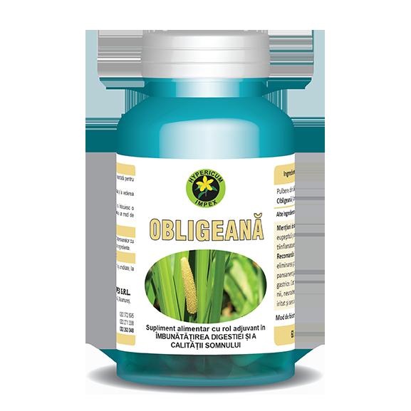 Capsule Obligeana - Vitamine si Suplimente - Hypericum Impex