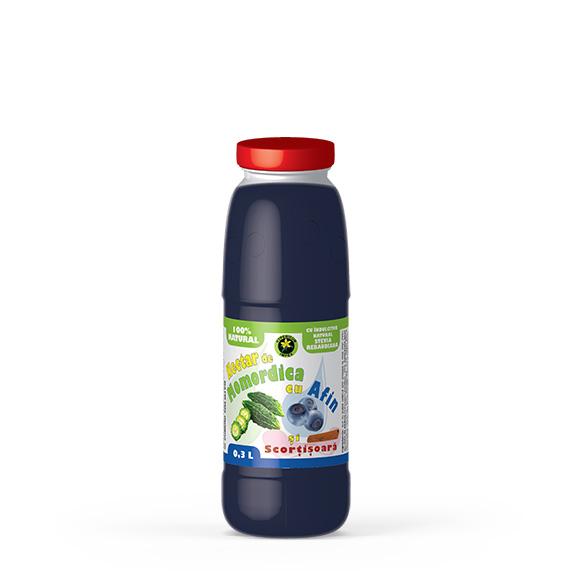 Nectar Momordica cu Afin si Scortisoara - Siropuri si Sucuri Naturale - Produs Hypericum Impex