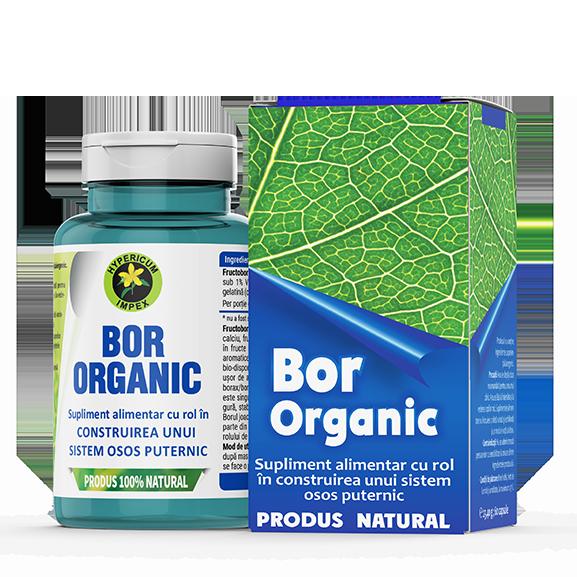 Bor Organic - Vitamine si Suplimente - Hypericum Impex