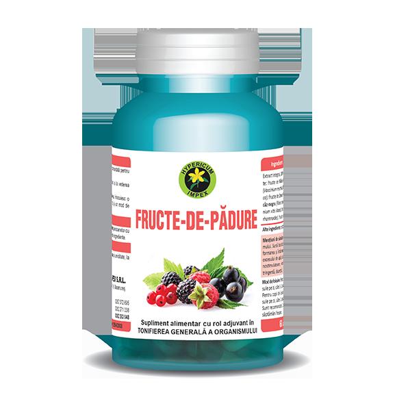 Capsule Fructe de Padure - Vitamine si Suplimente Naturale - Hypericum Impex
