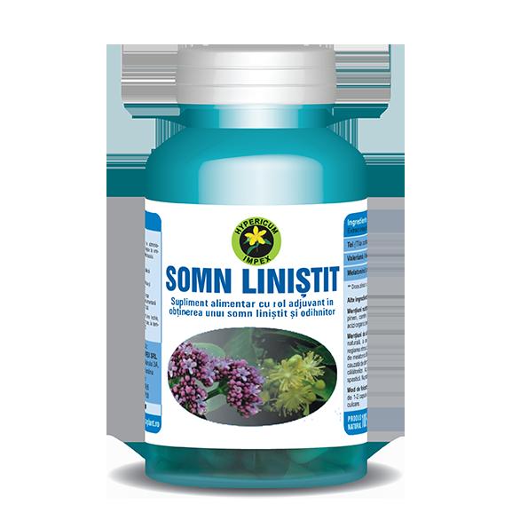 Capsule Somn Linistit - Vitamine si Suplimente - Hypericum Impex