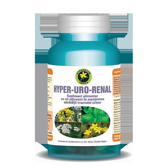 Capsule Hyper Uro Renal - Vitamine si Suplimente - Hypericum Impex