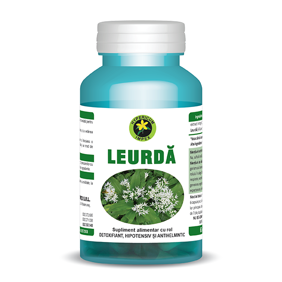 Capsule Leurda - Vitamine si Suplimente Naturale - Hypericum Impex