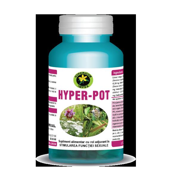 Capsule Hyper Pot - Vitamine si Suplimente - Hypericum Impex