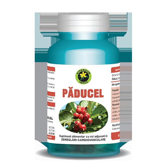 Capsule Paducel - Vitamine si Suplimente - Hypericum Impex