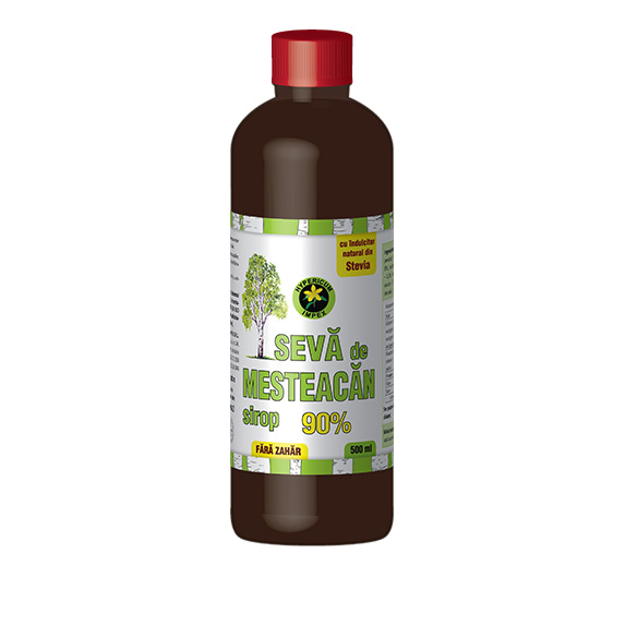 Sirop Seva de Mesteacan 500 ml - Siropiuri si Sucuri Naturale Produs Hypericum Impex