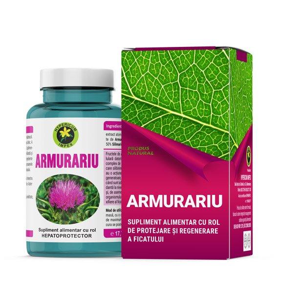 Capsule Armurariu - Vitamine si Suplimente Naturale - Produs Hypericum Impex