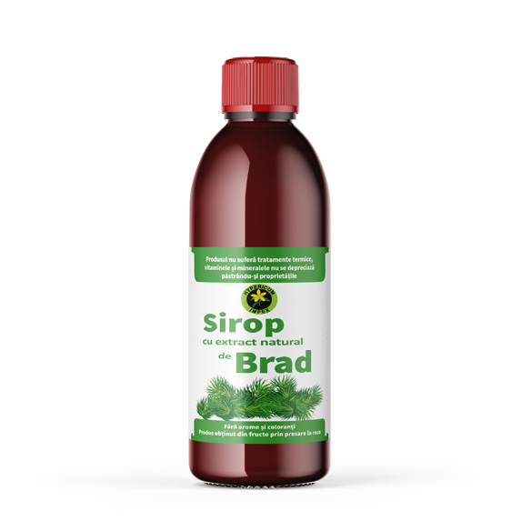 Sirop de Brad - Siropuri si Sucuri Naturale Produs Hypericum Impex