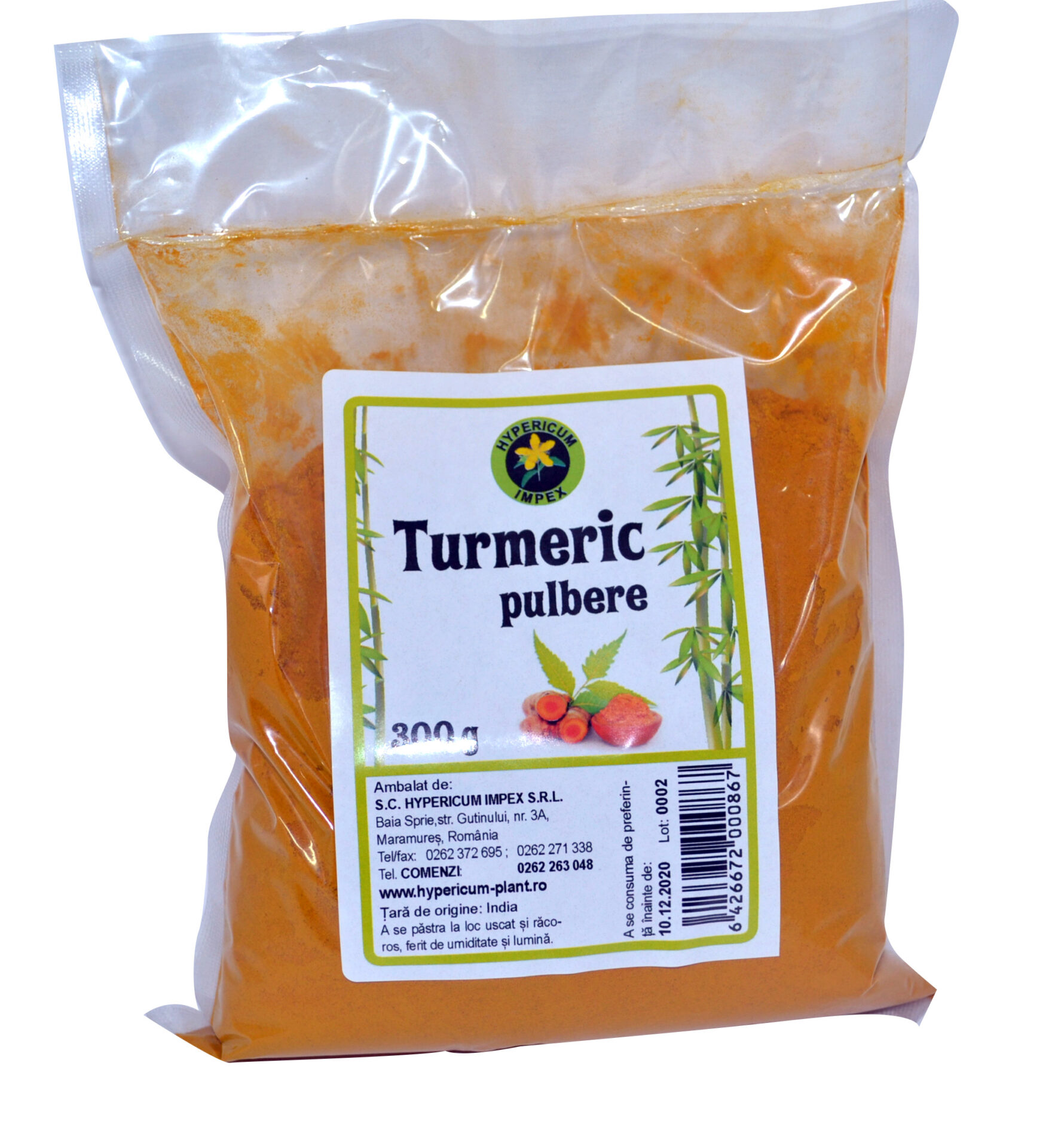 Turmeric Pulbere 300g