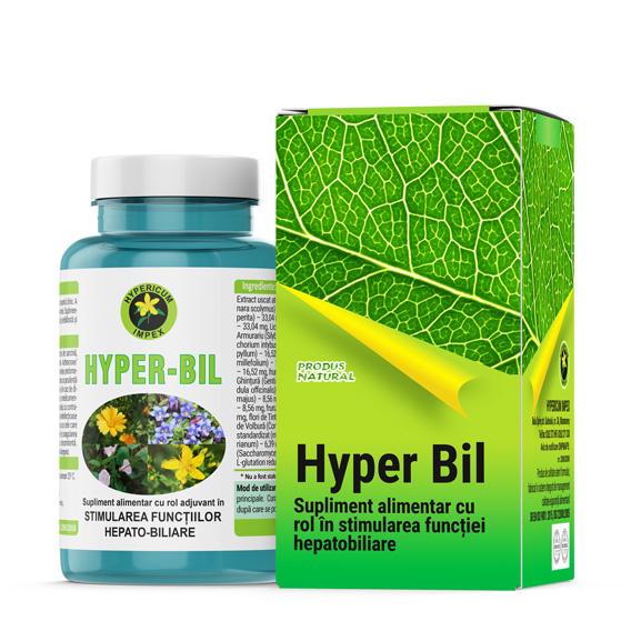 Capsule Hyper Bil - Vitamine si Suplimente Naturale - Produs Hypericum Impex