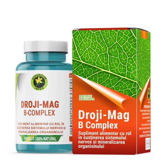 Capsule Droji Mag - Vitamine si Suplimente Naturale - Produs Hypericum Impex
