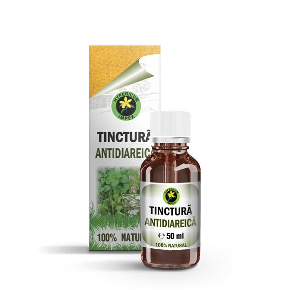 Tintura Antidiareica - Tinctura din Plante Medicinale - Tincturi Hypericum Impex