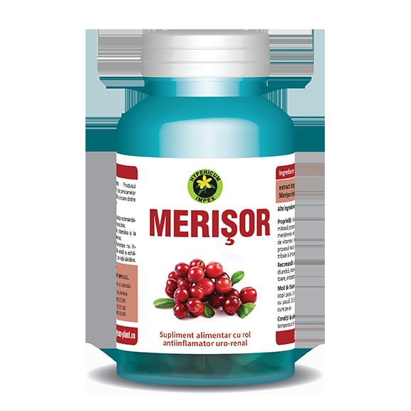 Capsule Merisor - Vitamine si Suplimente - Hypericum Impex