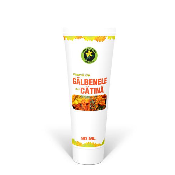 Crema cu Galbenele si Catina 90 ml - Cosmetice - Creme Hypericum Impex