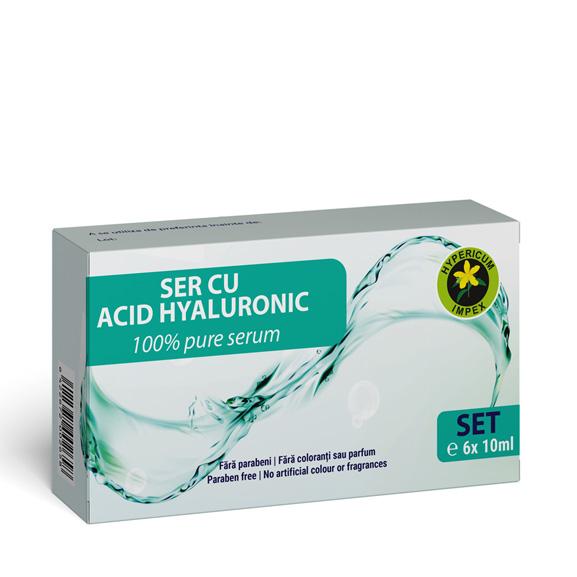 Ser cu Acid Hyaluronic - Cosmetice Hypericum Impex