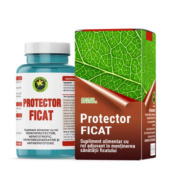 Capsule Protector Ficat - Vitamine si Suplimente Naturale - Produs Hypericum Impex