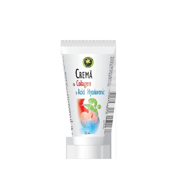 Crema cu Colagen si Acid Hyaluronic 70 ml - Creme, Unguente, Geluri - Hypericum Impex